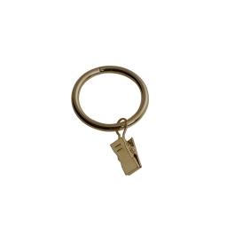 10 anneaux a pince (0) 4 x 0.4 cm plaque ap10 Laiton