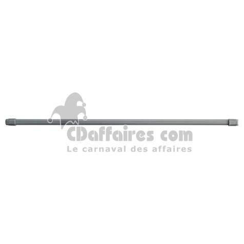 2 vitrages ovales extensible 11mm 30 < 40 cm metal+polystyrene vo11 Gris