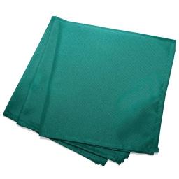 3 serviettes de table 40 x 40 cm polyester uni essentiel Emeraude
