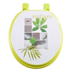 abattant wc mdf charnieres plastique vegetal