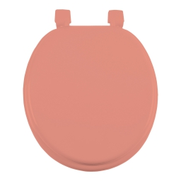 Abattant wc mdf charnieres plastique vitamine Corail