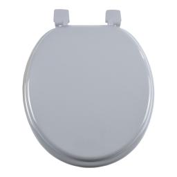 abattant wc mdf charnieres plastique vitamine gris clair