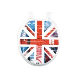 abattant wc mdf douceur d'interieur theme london rocks charnieres plastiques