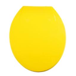 abattant wc plastique vitamine jaune