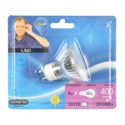 ampoule led e=m6 spot gu10 50 x 55 mm 5w 400 lumen