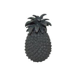 ananas polyresine 13*13*h20.5cm gris
