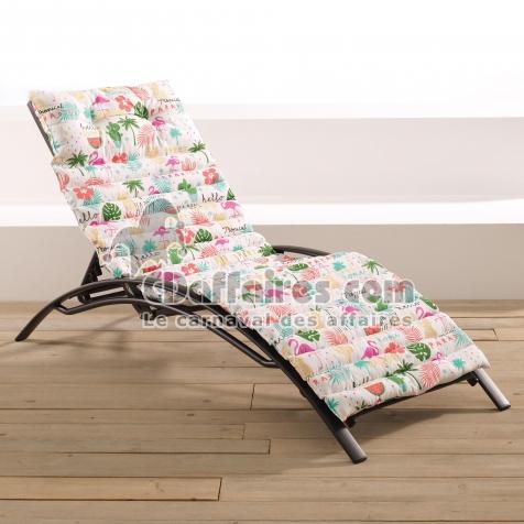 bain de soleil 60 x 180 cm coton imprime ibiza