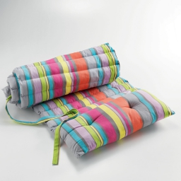 Bain de soleil 60 x 180 cm coton imprime marina Multico