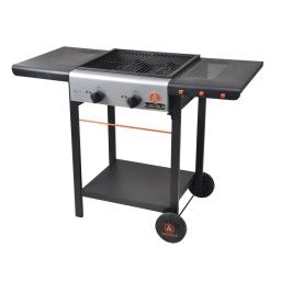 barbecue gaz 2 bruleurs - 110*52.5*81.5cm laguiole