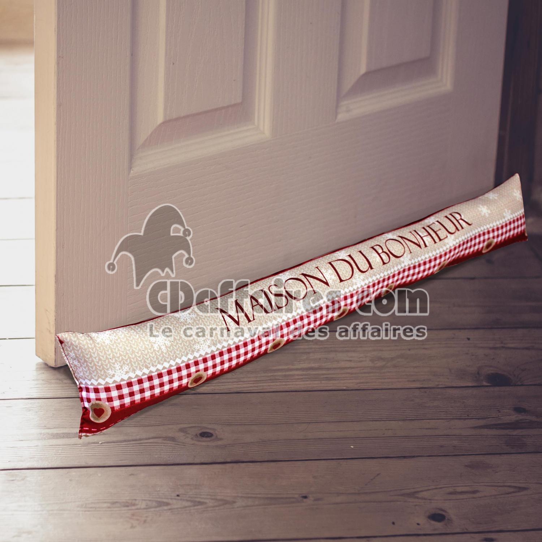 Bas de porte 85 x 15 cm polyester imprime maison du for Porte 85 cm