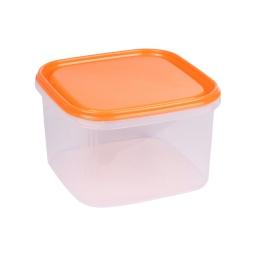 boite carre 2.8l avec couvercle - 19.5*19.5*h12cm - mangue