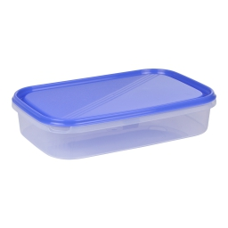 boite rect avec couvercle 2l - 29*19*h6cm - indigo