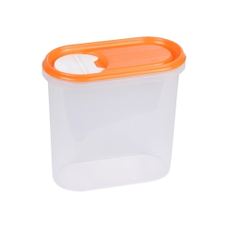 boite saupoudreuse 2l avec couvercle - 19*10.5*h18cm - mangue