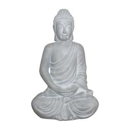 bouddha magnesie 58*45*h91cm blanc