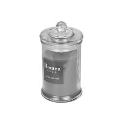 bougie parfumée en bocal ø8*h.15cm - parfum bois de cedre