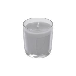 bougie verrine ø8*h9.5cm tropical parfum nuage de coton