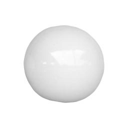 boule émaillée ø30*h30cm blanc