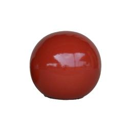boule émaillée ø30*h30cm rouge