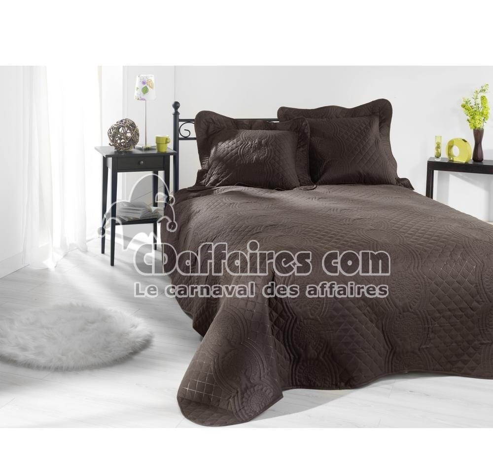 couvre lit matelass 233 230x250 cm neptune gris perle 2 taies d pictures to pin on