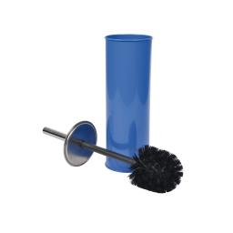 Brosse wc metal  douceur d'interieur theme vitamine Bleu roi