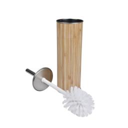 brosse wc metal effet bois