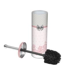 brosse wc metal imprimée charme
