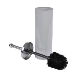 brosse wc metal vitamine gris clair