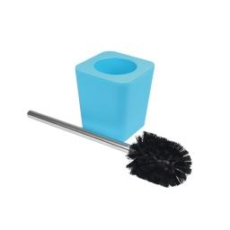 brosse wc plastique effet soft touch vitamine bleu ocean