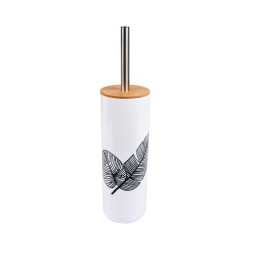 brosse wc plastique et bambou amazonia