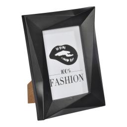 """cadre pp """"100% fashion"""" 20*25cm origami noir"""