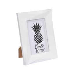 """cadre pp """"ananas exotic"""" 13*18cm origami blanc"""