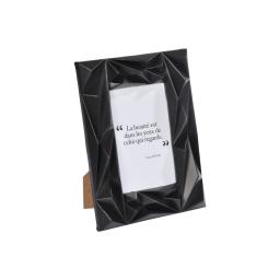 """cadre pp """"beaute dans les yeux"""" 10*15cm galactic noir"""