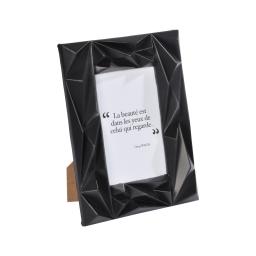 """cadre pp """"beaute dans les yeux"""" 13*18cm galactic noir - en display de 12"""