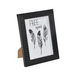 """cadre ps """"free spirit"""" 18*24cm nid d'abeilles noir - en display de 12"""