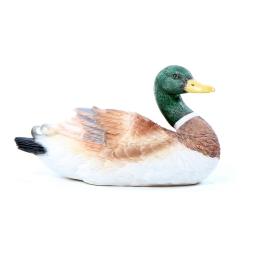 canard col-vert polyresine 11.5*25.5*h14cm