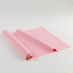 Chemin de table 40 x 140 cm coton uni delicia Rose