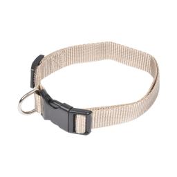 collier reglable en pp de 45 a 65cm*largeur - taupe