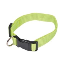collier reglable en pp de 45 a 65cm*largeur - vert anis