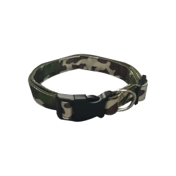 collier reglable l25 a 35cm*l10mm - design militaire
