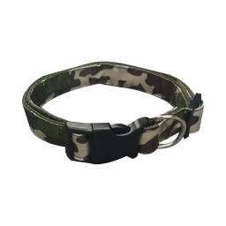 collier reglable l30 a 45cm*l16mm - design militaire