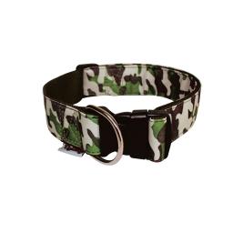collier reglable l45 a 65cm*l25mm - design militaire