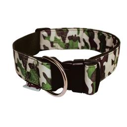collier reglable l50 a 70cm*l40mm - design militaire