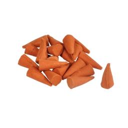 cones d'encens/20 santal hauteur 2.5 base 1.2cm