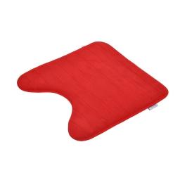 contour wc mémoire de forme microfibre 45*45cm vitamine rouge