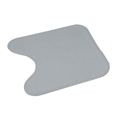 contour wc microfibre 45*45cm vitamine gris clair