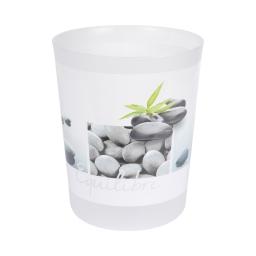 corbeille plastique 5l stone