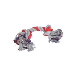 corde coton 2 noeuds 28cm