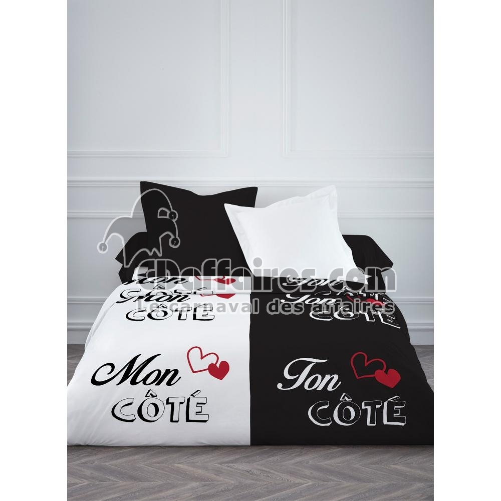 couette imprim e chacun son cot 220x240 cm ebay. Black Bedroom Furniture Sets. Home Design Ideas