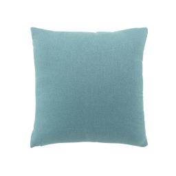 Coussin 60 x 60 cm tisse uni meliane Bleu