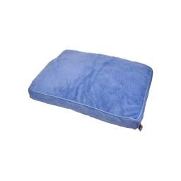 coussin chien rectangulaire newton 60*45cm bleu